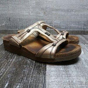 NAOT Slip On Cork Sandal Sz 9 L 40